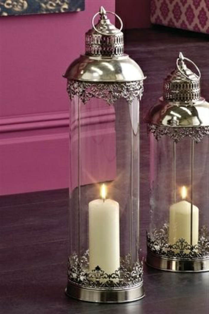 bougeoir-en-verre-jolis-lanternes-avec-bougies
