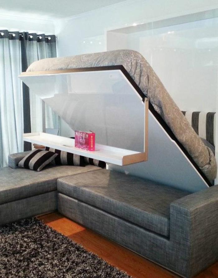 canapé-lit-ikea-meubles-chambre-a-coucher-lit-d-appoint-pliant-canapé-gris