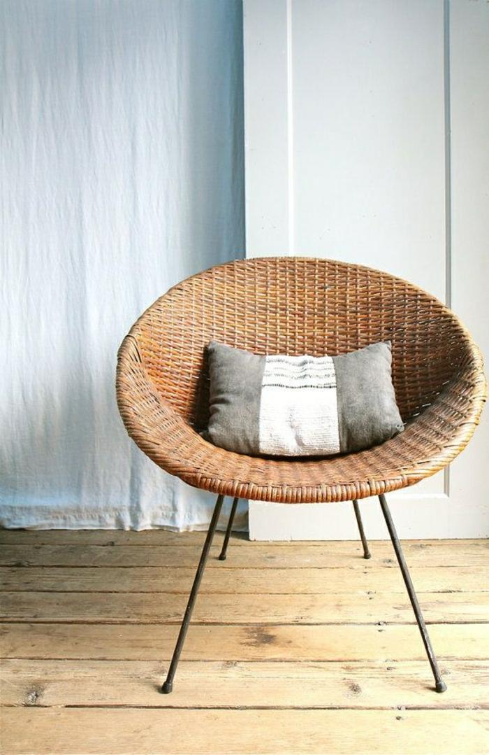 ★ Notre inspiration du jour est la chaise en osier!