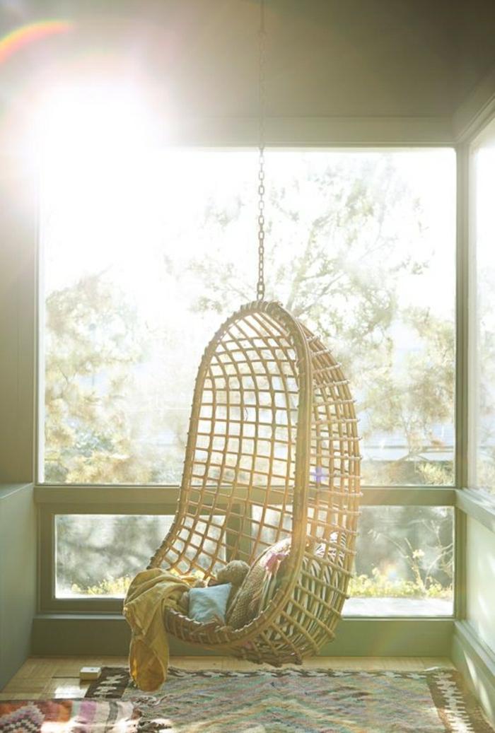 chaise-rotin-meubles-en-osier-parquet-en-bois-massif-aménagement-de-jardin