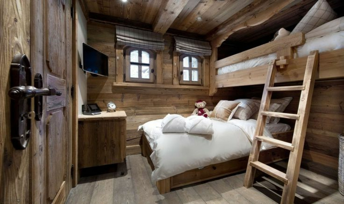 quel type d int rieur pour votre chalet en bois habitable. Black Bedroom Furniture Sets. Home Design Ideas