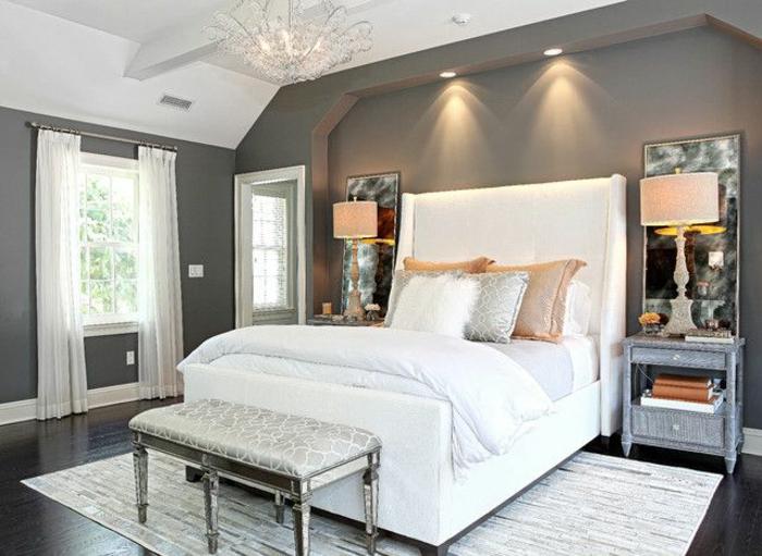 chambre-à-coucher-feng-shui-tapis-blanc-sol-noir-en-praquet-maison-feng-shui