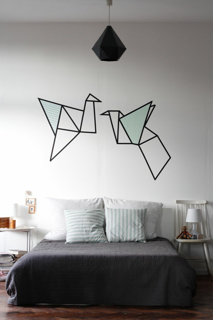 Choisir la meilleure id e d co chambre adulte - Decoration murale chambre adulte ...