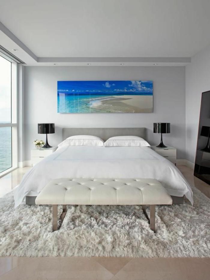 9 chambre a coucher chambre feng shui chambre zen deco chambre zen tapis - Gris Chambre Feng Shui
