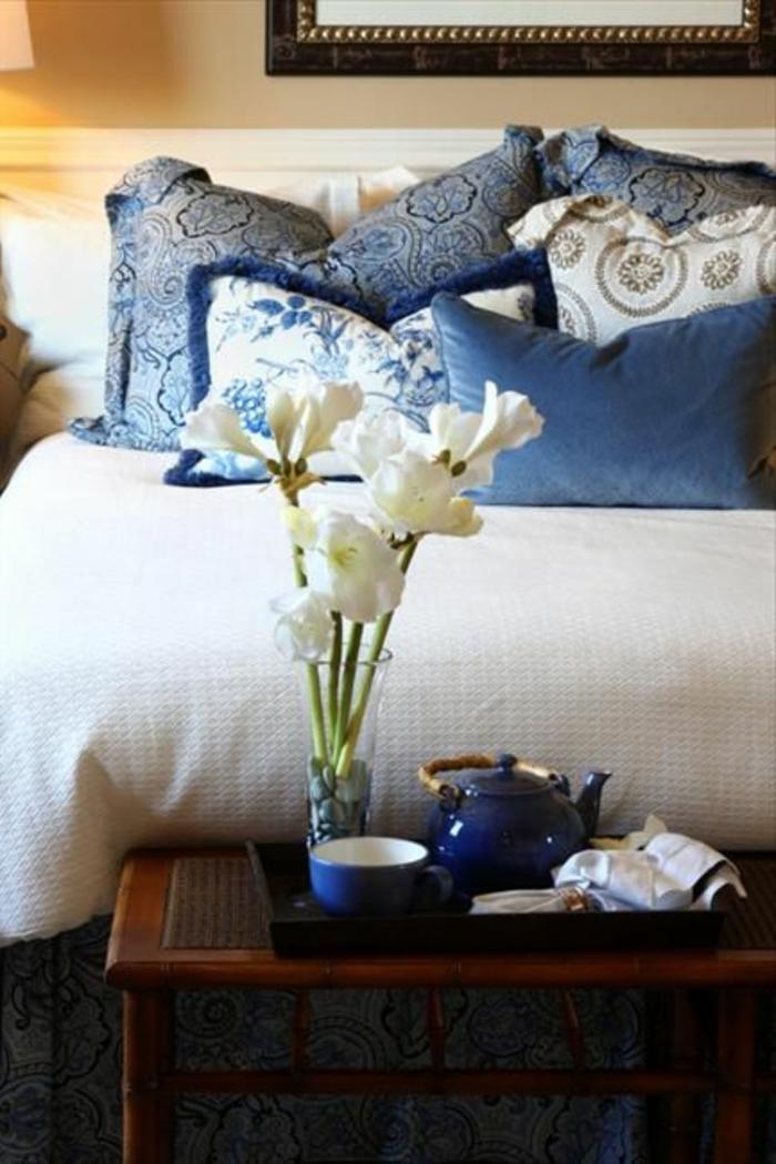 La chambre feng shui ajoutez une harmonie la maison - Bleu chambre feng shui ...