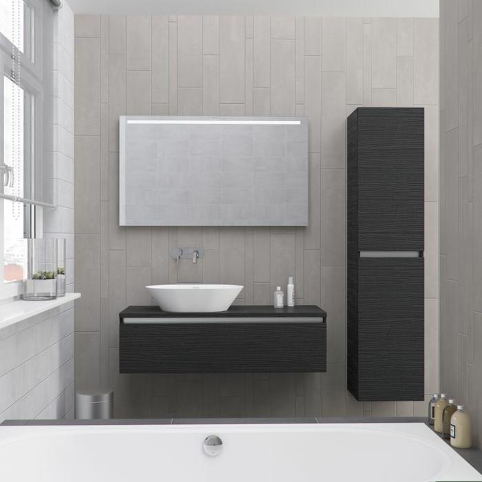 Le meuble colonne en 45 photos qui vont vous inspirer - Meuble colonne salle de bain castorama ...
