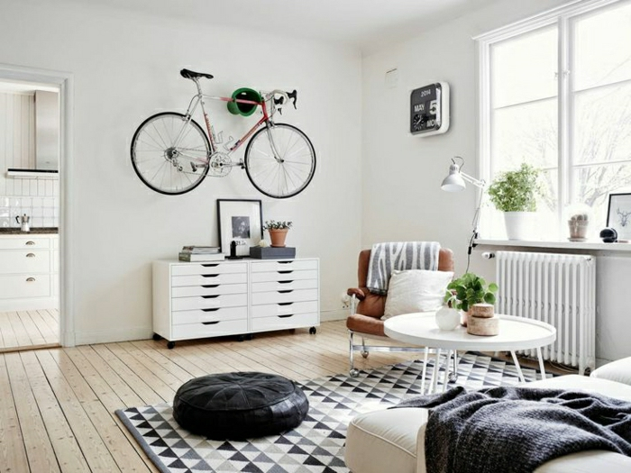 commode-blanche-dans-un-séjour-original