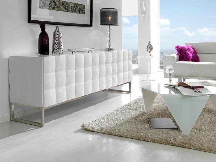 commode-blanche-moderne-dans-un-séjour-élégant