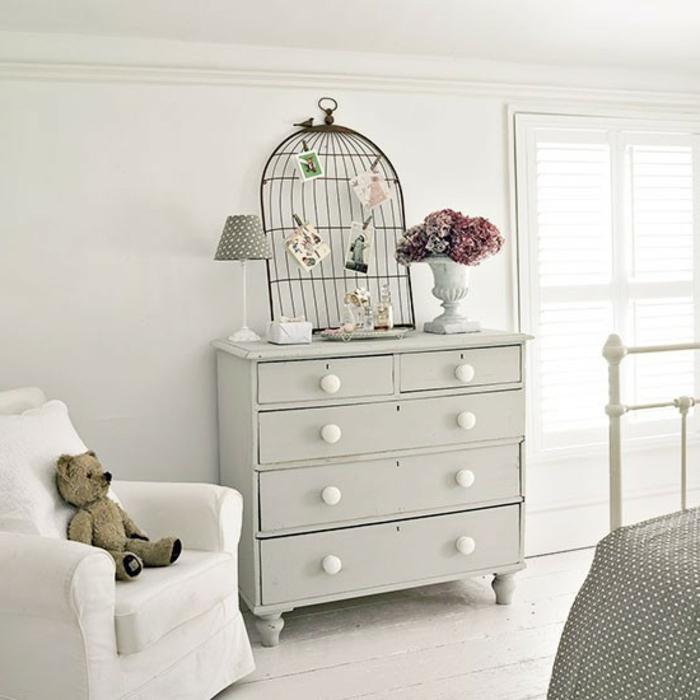 Mettez une commode blanche pour plus de charme la maison - Commode pour chambre ...