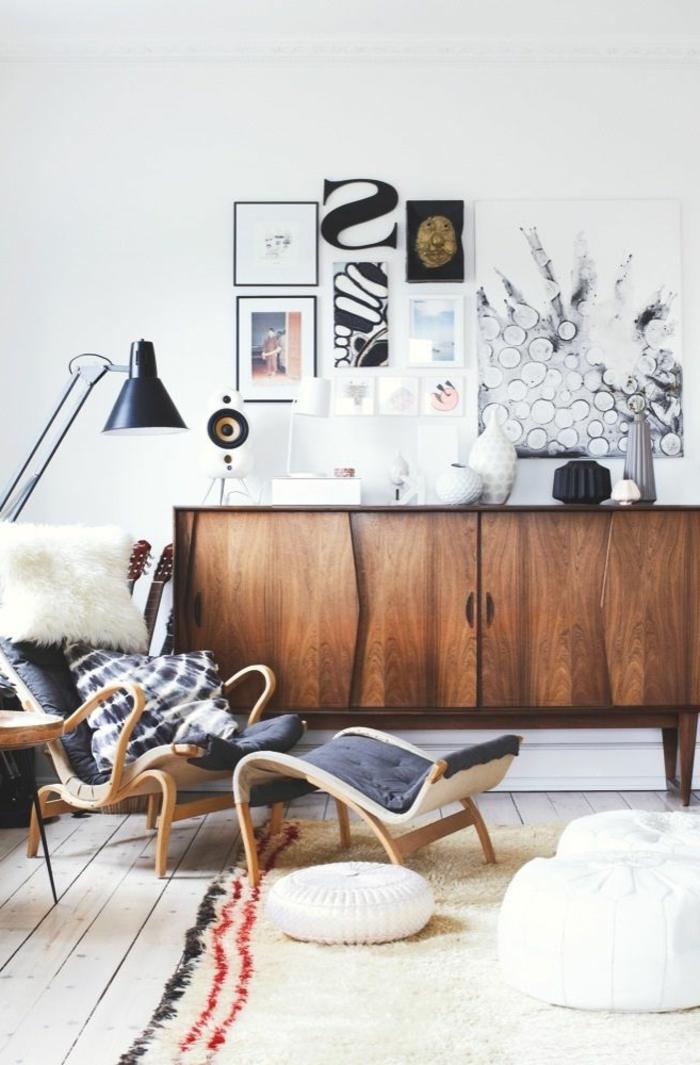 commode-en-bois-vintage-et-ambiance-claire