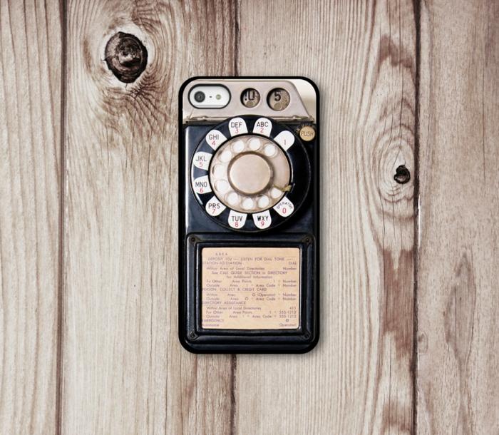 coque-originale-pour-i-phone-5-s-vintage-phone