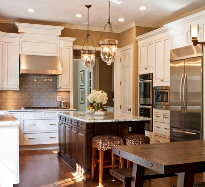 Cuisine salle manger cuisine salle mangers - Couleur tendance interieur maison ...