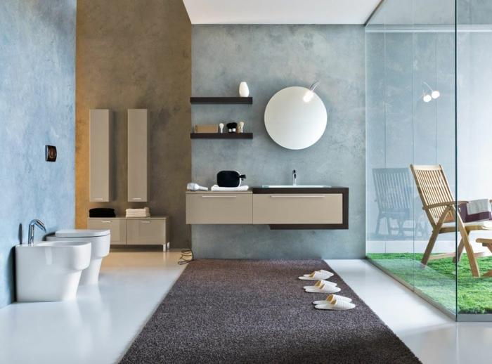 couleur-cappuccino-peinture-idée-créative-déco-salle-de-bain-modenre