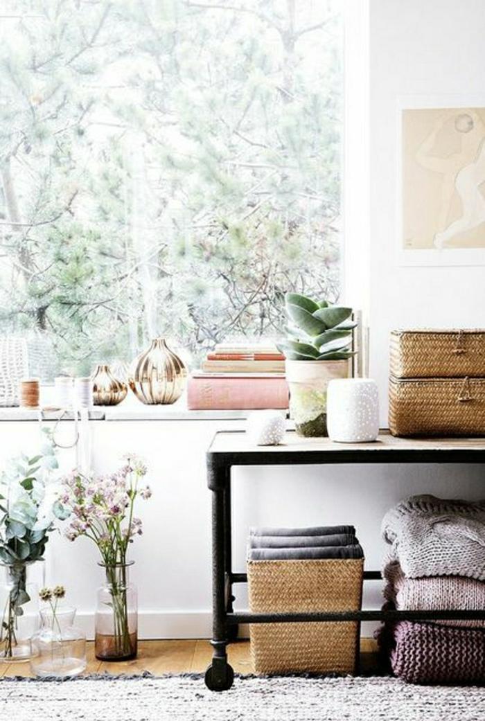 couleur-pastel-interieur-moderne-salon-tapis-plantes-vertes-fleurs-chez-vous