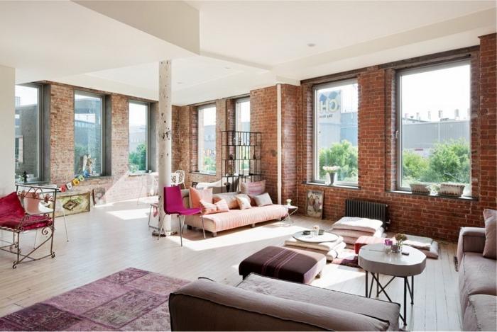 creative-deco-loft-new-yorkais-cool-idées-jolie
