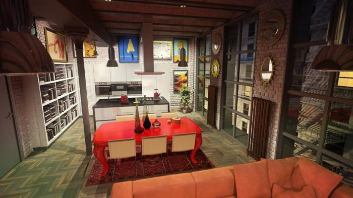 creative-deco-loft-new-yorkais-cool-idées-new-york-bricques