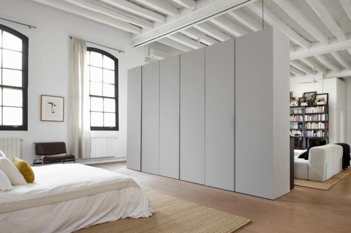creative-deco-loft-new-yorkais-cool-idées-tout-est-une-pièce