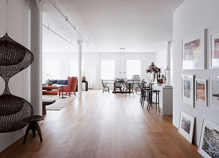 La deco loft new yorkais en 65 images for Salle de sejour deco