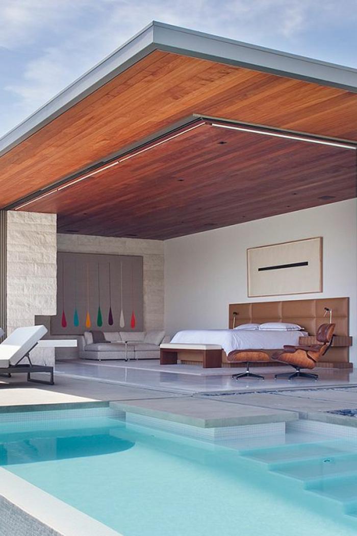 creatives-idées-déco-chambre-adulte-piscine-lit-sofa