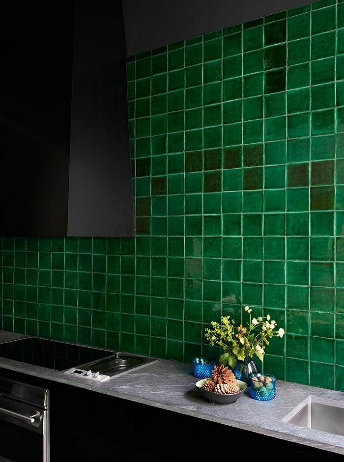 Choisir quelle couleur pour une cuisine for Cuisine equipee verte