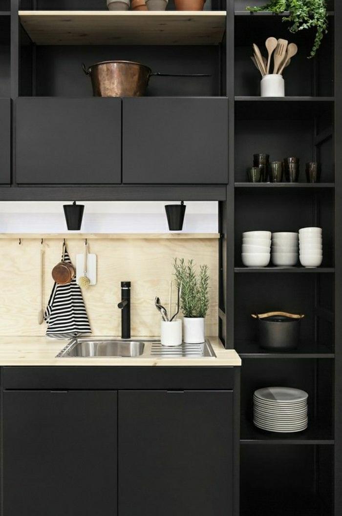 cuisine-grise-moderne-meubles-de-cuisine-gris-couleur-gris-perle-decoration-interieur