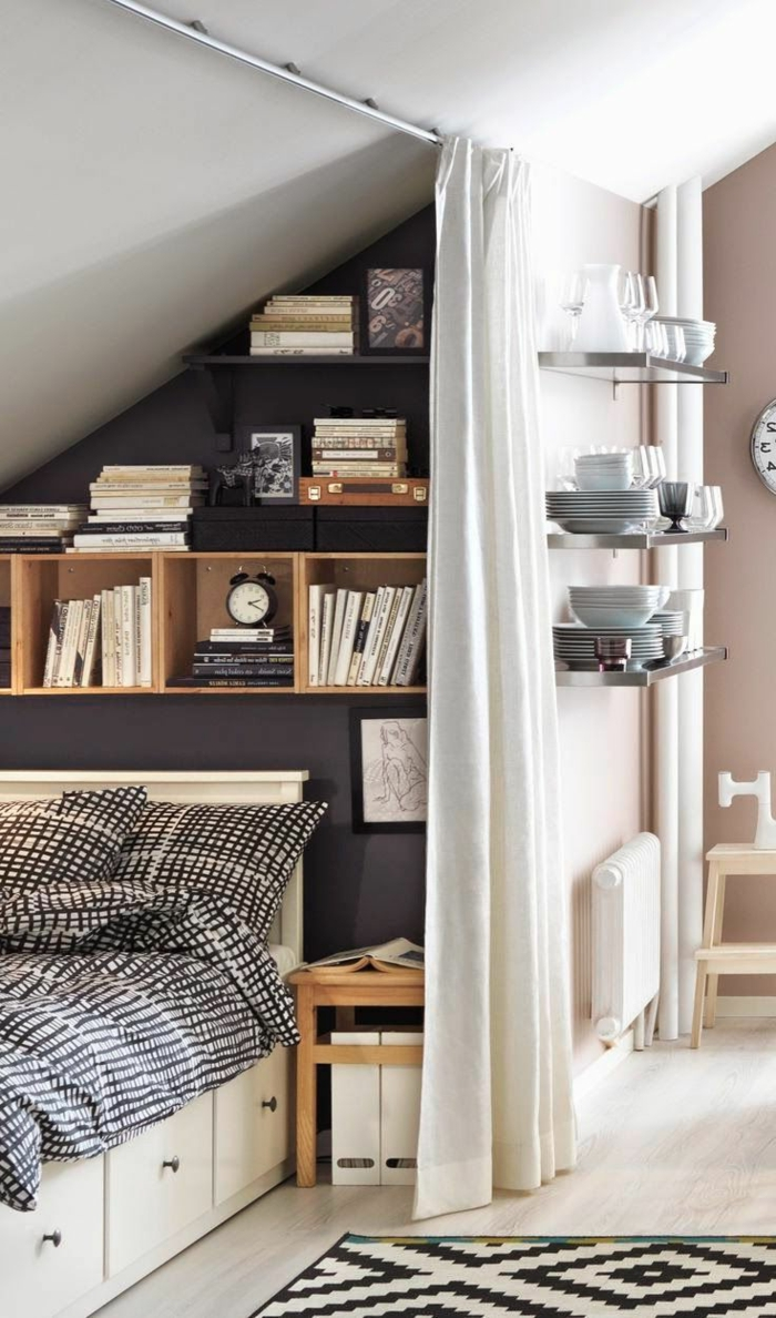 déco-creatives-idées-de-chambre-adulte-petite-espace