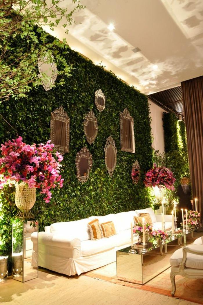 décoration-avec-pelouse-synthétique-mur-de-gazon-artificiel-maison-de-luxe-intérieur