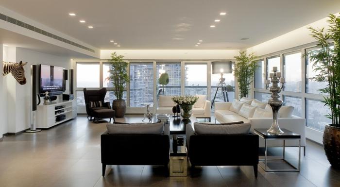 décoration-salon-moderne-idée-originale-bien-aménagé-fenetre-lumiere