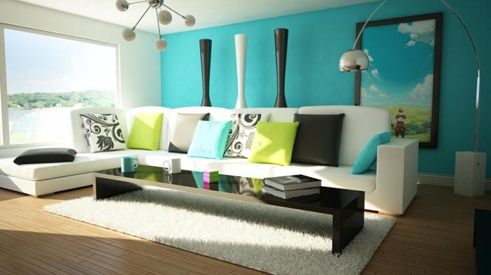décoration-salon-moderne-idée-originale-sofa-confort