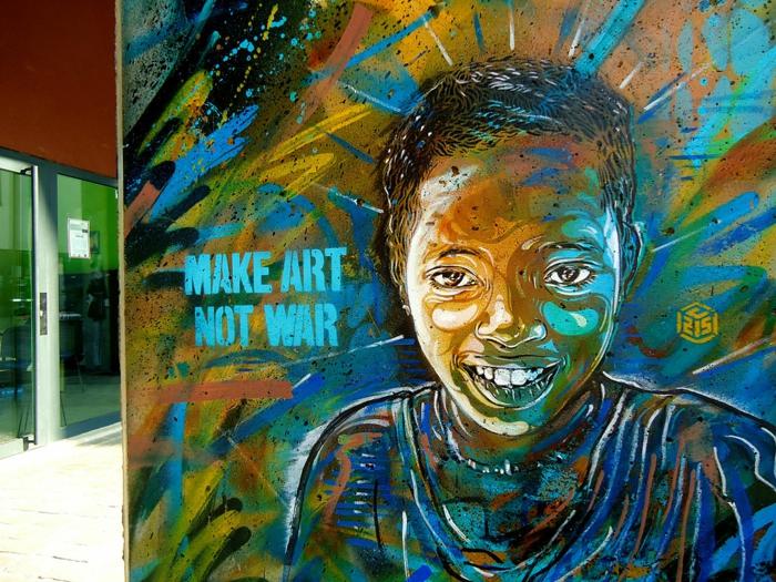 définition-du-street-art-de-C215-sur-rue pas-de-guerre