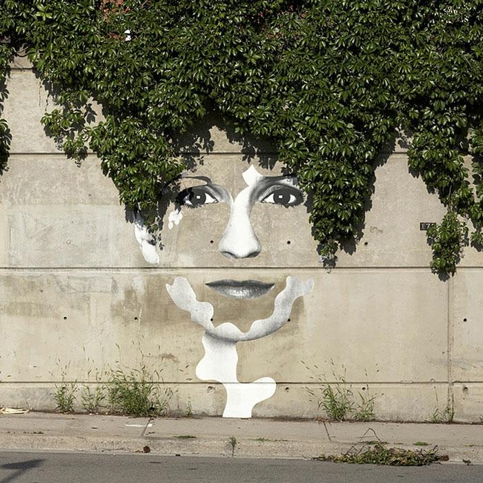 de-90bpm-graffiti-pochoirs-oeuvre-art-face-femme