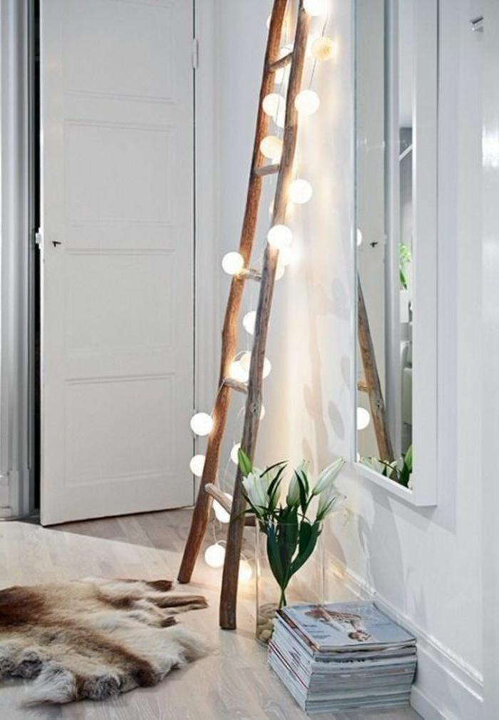 deco-chambre-adulte-idée-originale-echelle-décoration