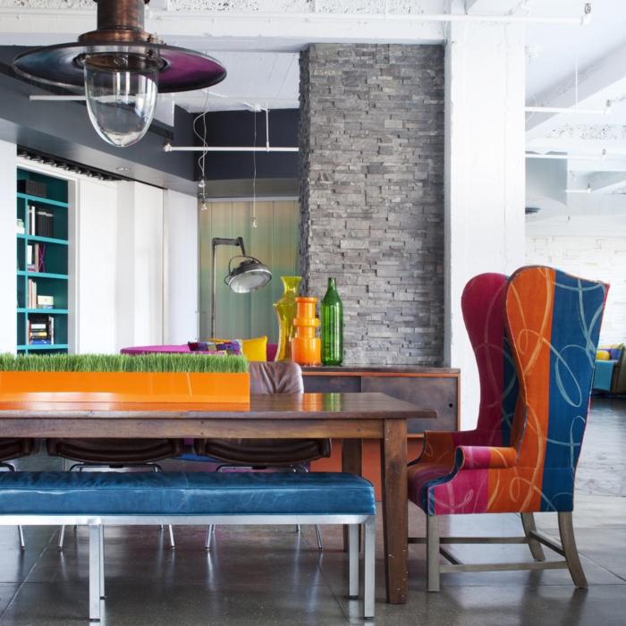 deco-loft-new-yorkais-idée-créative-arty-couleur