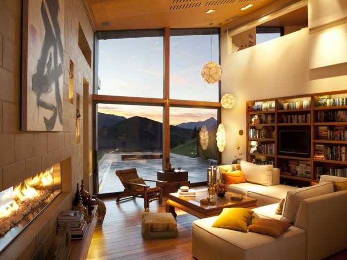 deco-salon-design-aménagement-joli-lumière-confort