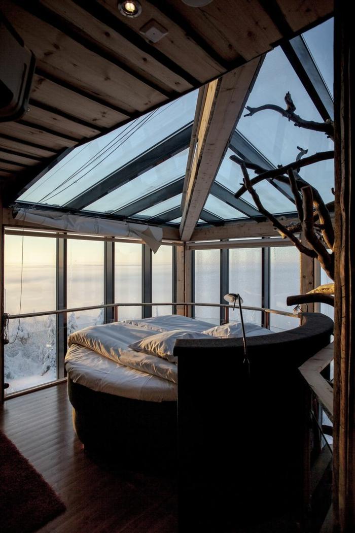 decoration-chambre-idée-déco-chambre-adulte-lit-ronde