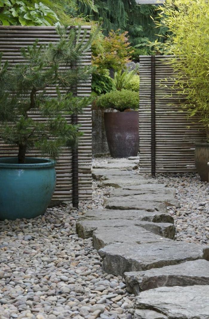 Le jardin zen japonais en 50 images for Pierre pour jardin japonais