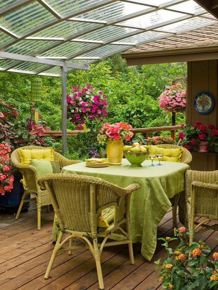 Comment choisir une table et chaises de jardin - Meubles veranda jardin ...