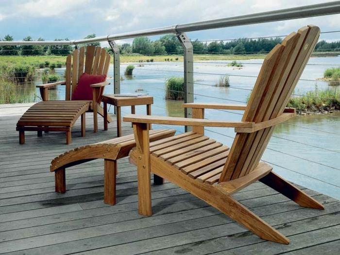 Chaises longues de jardin les chaisons longues de jardin plan chaise de jardin en palette for Chaise de jardin en palette
