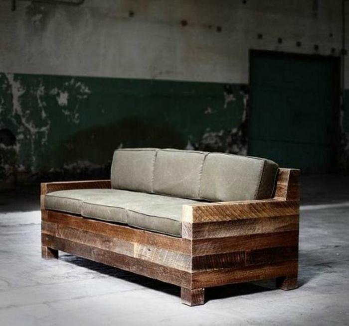 Le fauteuil en palette est le favori incontest pour la - Canape fait avec des palettes ...