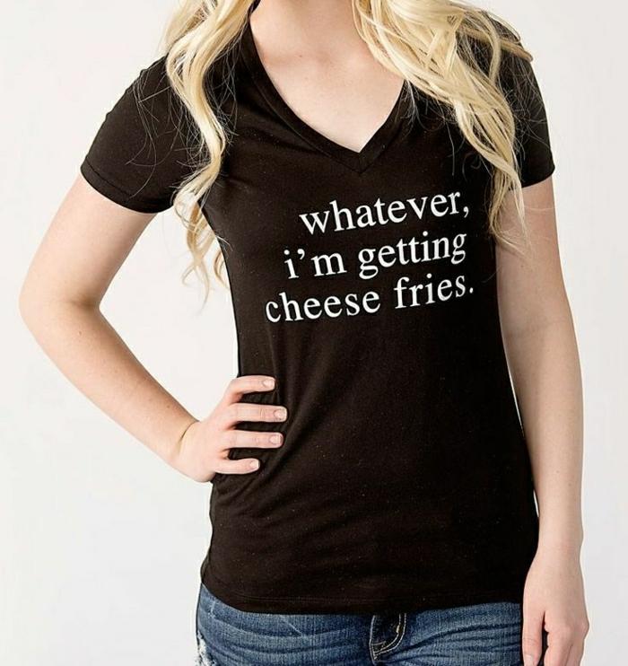 femme-moderne-t-shirt-personnalisable-de-couleur-noir