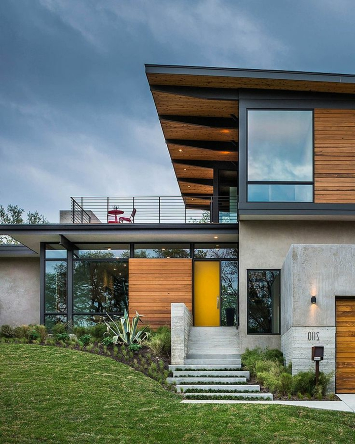 Le garde corps ext rieur en photos de lieux ph nom naux for Exterieur maison moderne
