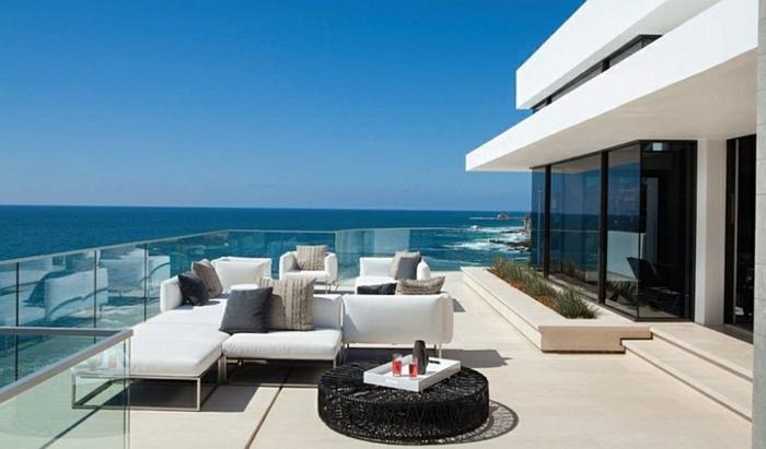 Terrasse Maison Moderne. Affordable Terrasse Outdoor Espace Maison ...
