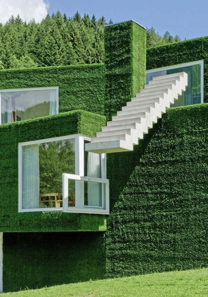 gazon-artificielle-pelouse-extérieur-maison-avec-murs-de-gazon-artificiel-maison-avec-extérieur-de-gazon