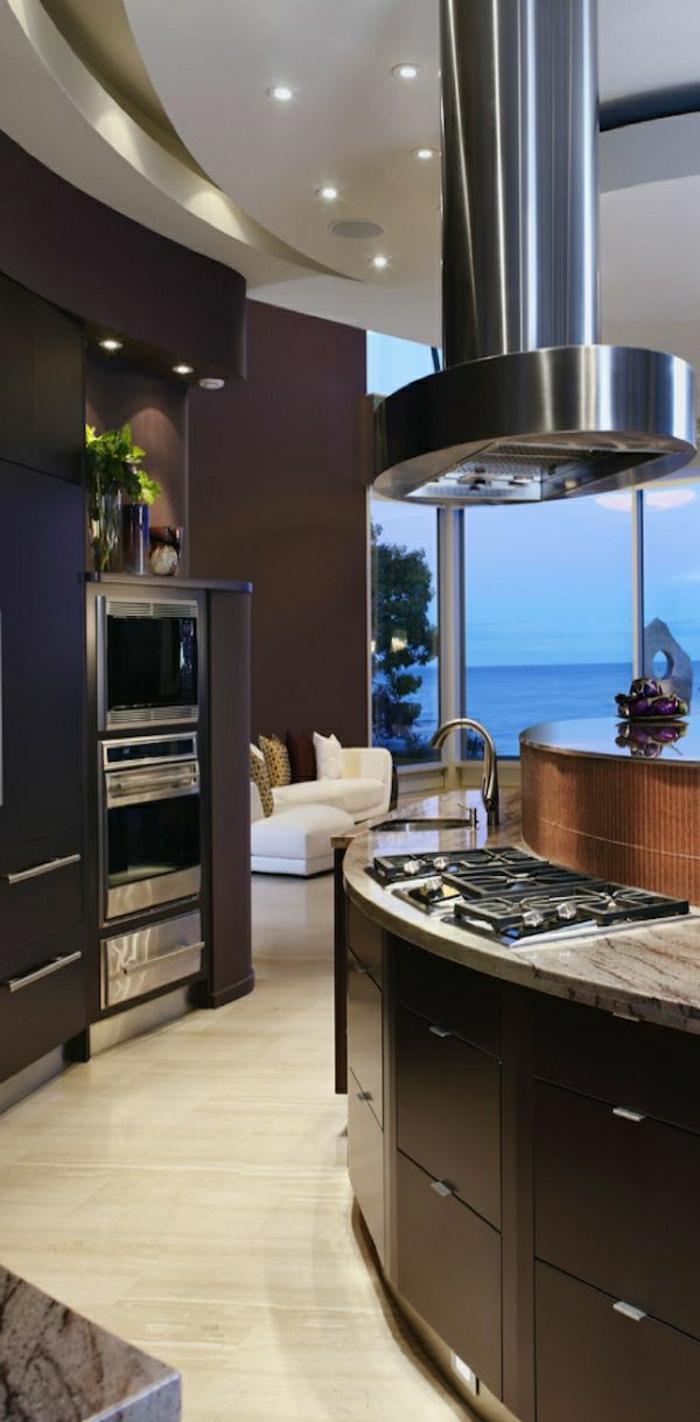 idée-couleur-cuisine-couleur-taupe-mur-couleur-taupe-cuisine-moderne