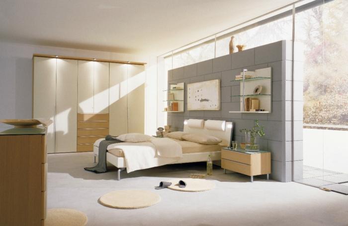 idée-déco-chambre-adulte-moderne-lumière-vaste