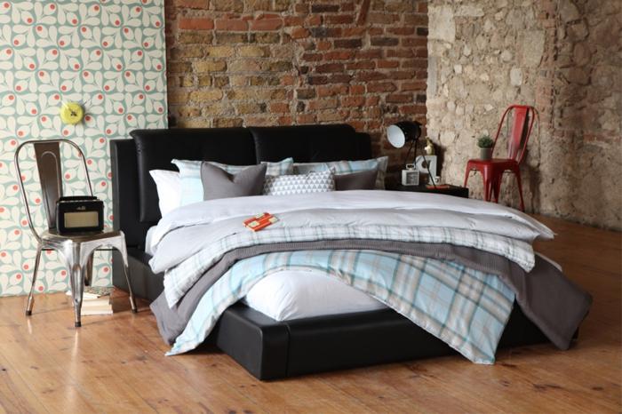 idée-originale-pour-la-decoration-loft-chambre-à-coucher