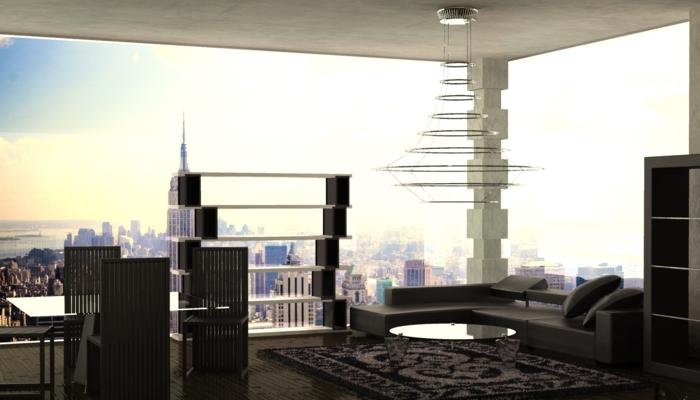 idée-originale-pour-la-decoration-loft-une-pièce-vue-ny