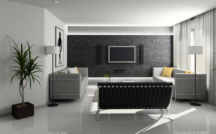 idée-salon-aménager-son-salon-déco-intérieur-moderne-en-gris
