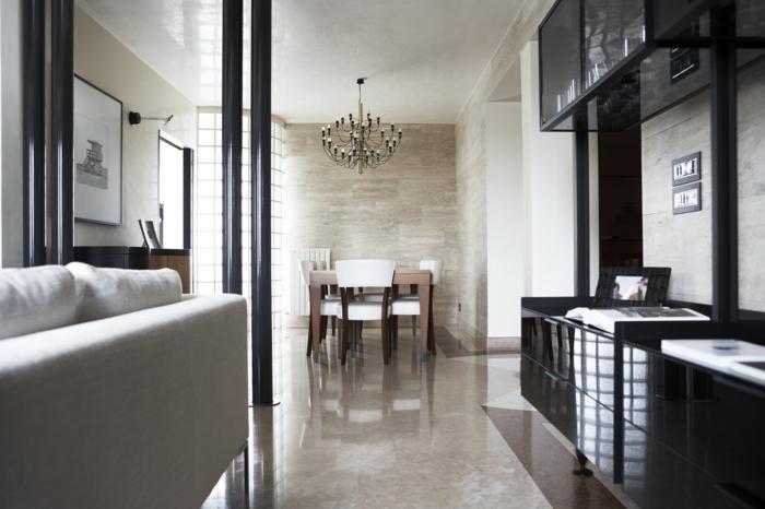 idées-deco-loft-new-yorkais-paris-cuisine-chaise-salle-a-manger