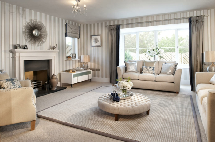 18 ikea deco decoration salon classy style classique sofa confortable - Decoration Salon Classique